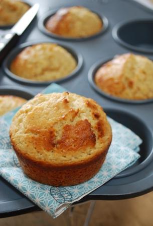 Muffins Au Citron Et Pate D Amande Clea Cuisine
