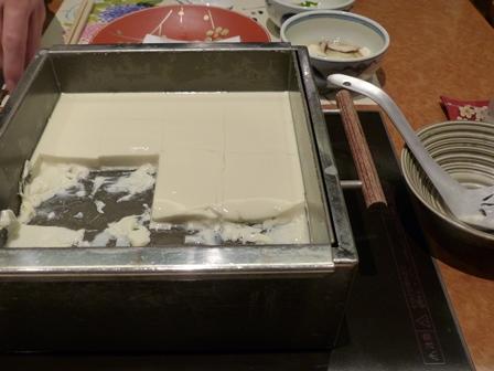 Le tofu est prêt !